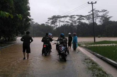 Dikepung Banjir dan Longsor, Wisatawan Geopark Ciletuh Terjebak Tidak Bisa Pulang