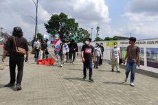 Masih PPKM Level 4, Polisi Halau Demo Mahasiswa di Purwokerto