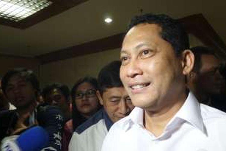Kepala Badan Narkotika Nasional (BNN), Budi Waseso di Kompleks Parlemen, Senayan, Jakarta (16/6/2016)