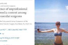 Dianggap Tak Profesional jika Selfie Pakai Bikini, Begini Respons Dokter di AS