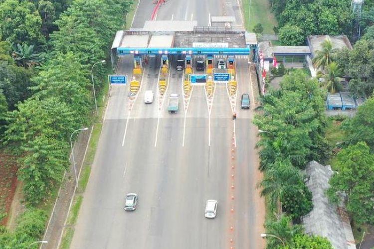 Pemeliharan Jalan di Akses GT Sentul Selatan Arah Jakarta