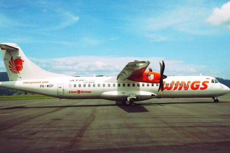 Pesawat Wings Air jenis ATR 72