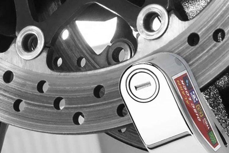 Ilustrasi pengaman pada rem cakram