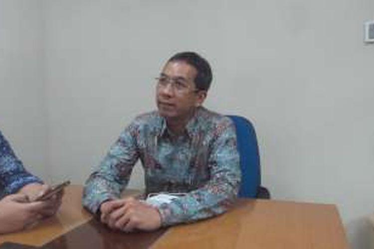 Kepala Badan Pengelola Keuangan dan Aset Daerah (BPKAD) DKI Jakarta Heru Budi Hartono di Balai Kota, Jumat (4/3/2016). Heru merupakan salah orang yang dipertimbangkan Gubernur Basuki Tjahaja Purnama menjadi calon wakil gubernurnya pada Pilkada 2017.