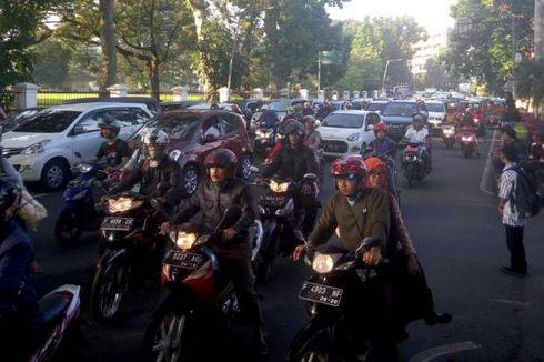 Selama PPKM Darurat, Jalur Pedestrian SSA Kebun Raya Bogor Ditutup