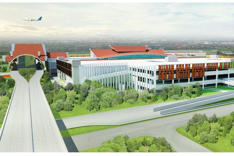 Pembangunan Integrated Bandara Soekarno-Hatta.