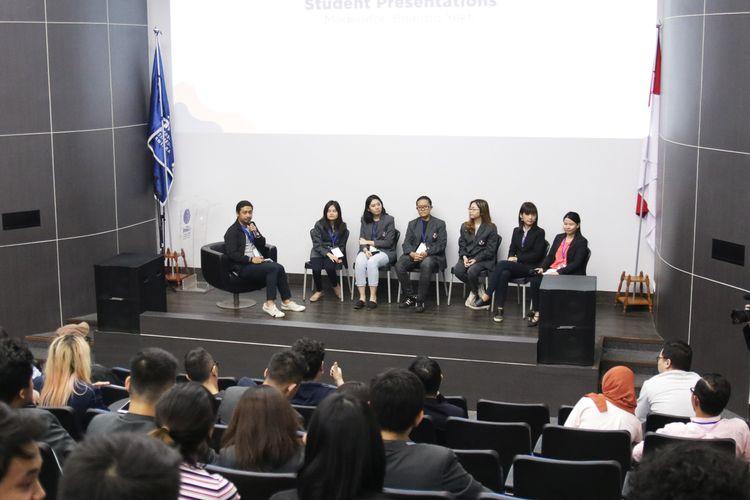 Konferensi ilmiah ?gambar bergerak? IMOVICCON dilaksanakan pada tanggal 2-3 Juli 2019 bertempat di Universitas Multimedia Nusantara (UMN) Tangerang.