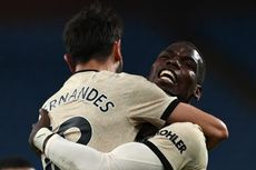 Pogba-Fernandes Gemilang, Man United Samai Rekor Liverpool 33 Tahun Silam