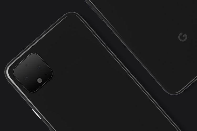 Render Pixel 4 memiliki bentuk yang mirip dengan bocoran iPhone XI