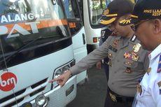 Antisipasi Kecelakaan, Bus di Terminal Surodakan Jalani Uji Kelaikan