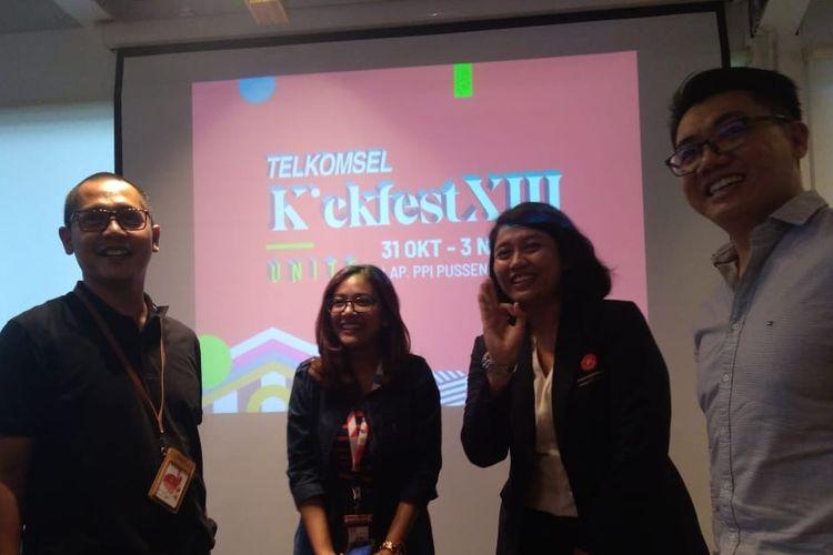 Simpati Kickfest 2019 digelar di Bandung pada 31 Oktober-3 November 2019. Dalam perhelatan tahunan ini, ratusan clothing siap menjajakan produknya.