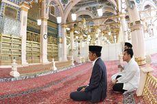 Setelah Ziarah ke Makam Rasulullah SAW, Jokowi dan Keluarga Kembali ke Tanah Air