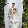 Donne Maula Terisak Saat Ucap Janji sebagai Suami Yura Yunita