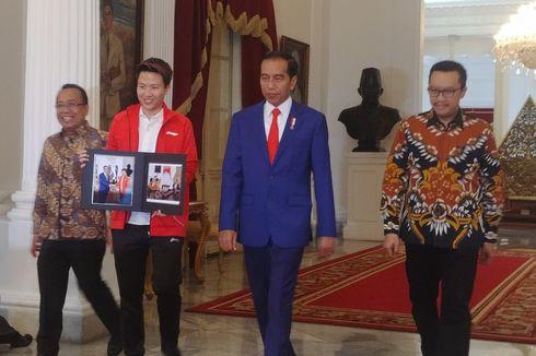 Pensiun, Liliyana Natsir Pamitan ke Jokowi