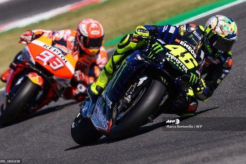 MotoGP 2021, Valentino Rossi Masih Menganggap Keberadaan Marc Marquez