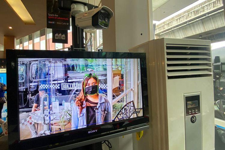 Protokol kesehatan di IIMS Motobike Hybrid Show di MotoVillage