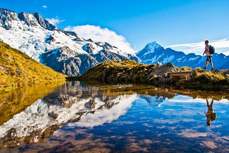 Bentang Keindahan Alam di Selandia Baru.