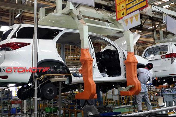 Investasi terus digelontor Toyota untuk membangun merek di Indonesia.