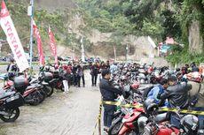 Biker Honda Sumatera Hidupkan Ngarai Sianok