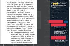 Viral, Utas soal Dosen yang Sering Blok WA Mahasiswa hingga Beri Tugas 600 Slide PPT