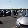 Umat Katolik Kota di Perancis Gelar Misa di Tempat Parkir