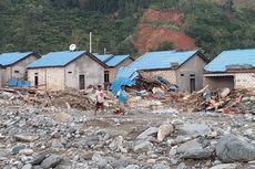 Material Gunung Cyclop Masih Menyisakan Potensi Banjir Susulan