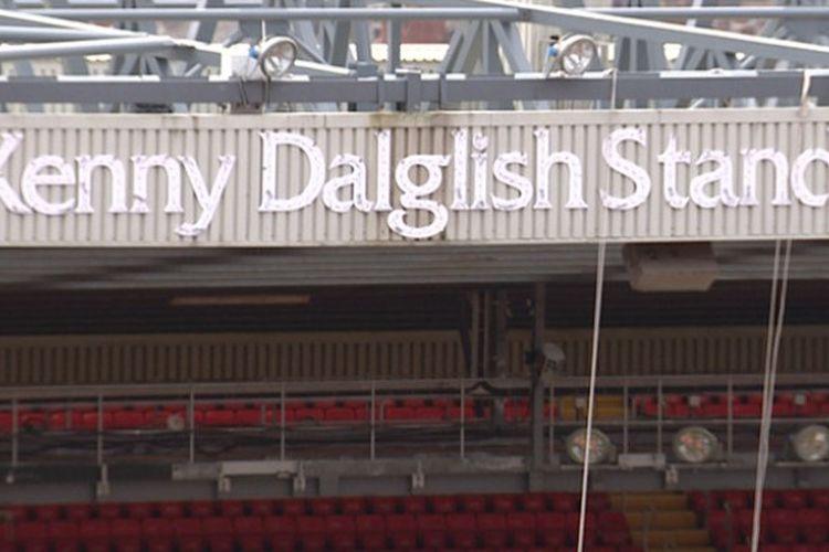 Kenny Dalglish Stand, salah satu tribun Stadion Anfield (sebelumnya Centenary Stand).