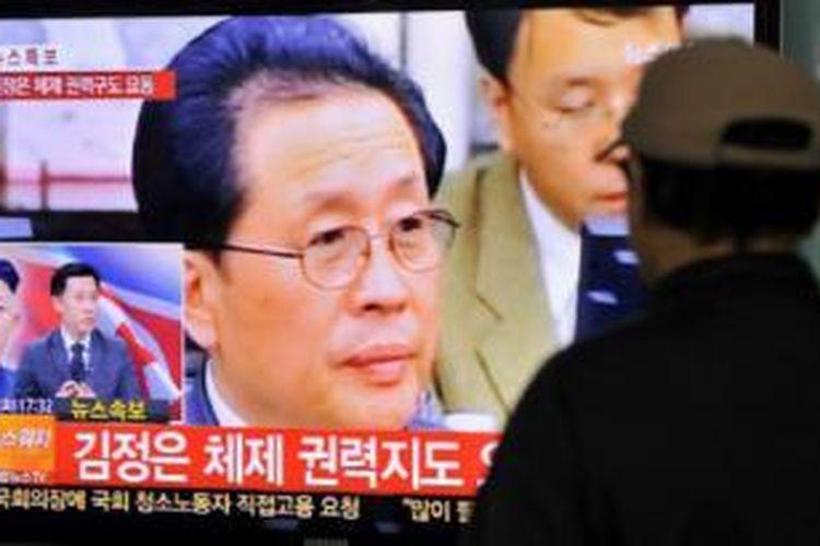 Chang Song-thaek disebut memiliki pengaruh politik besar di Korea Utara.