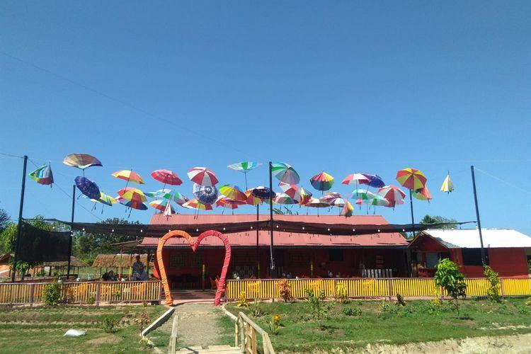 Kafe Panorama, di Kawasan Obyek Wisata Rancong, Kecamatan Muara Satu, Kota Lhokseumawe, Rabu (23/1/2020)