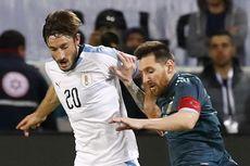 Messi dan Cavani Terlibat Adu Mulut di Laga Argentina Vs Uruguay