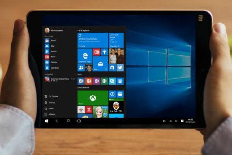 MiPad 2 dalam edisis Windows 10