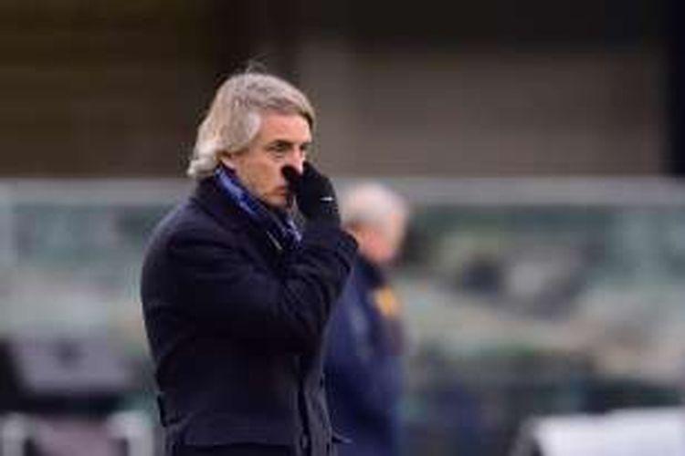 Meskipun Inter Milan menang 3-1 atas Sampdoria pada lanjutan Serie A, Sabtu (20/2/2016) atau Minggu dini hari WIB, Roberto Mancini menilai timnya belum keluar dari fase sulit.