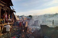 Ratusan Warga Mengungsi akibat Kebakaran 63 Rumah di Bima, Pemprov NTB Kirim Bantuan