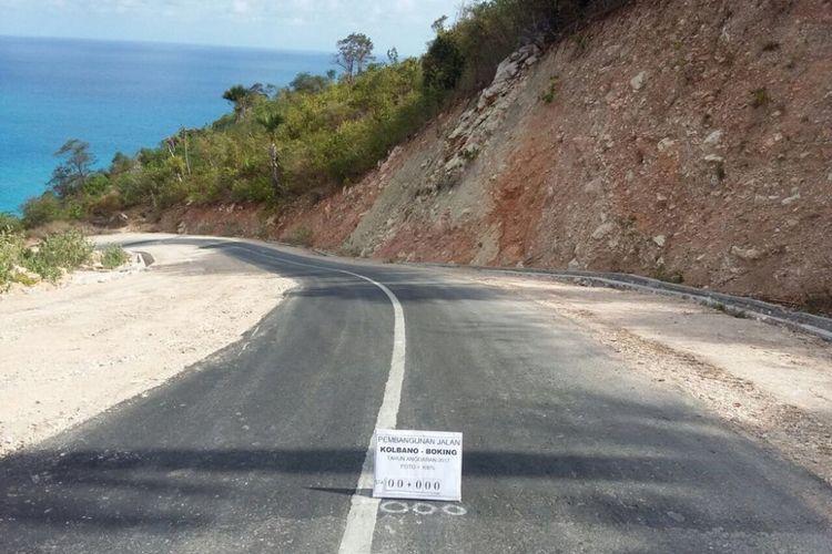 Jalan Poros Selatan Pulau Timor Bantu Akses Warga 2 Kabupaten di NTT