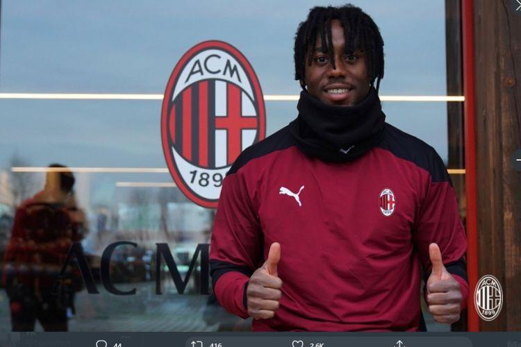 Gelandang baru AC Milan, Soualiho Meite.