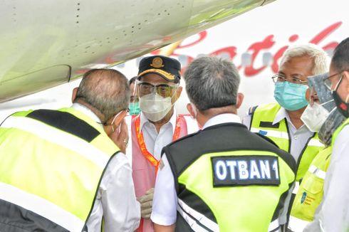 Pastikan Kelayakan Terbang Pesawat, Menhub Tinjau Ramp Check di Bandara Soetta