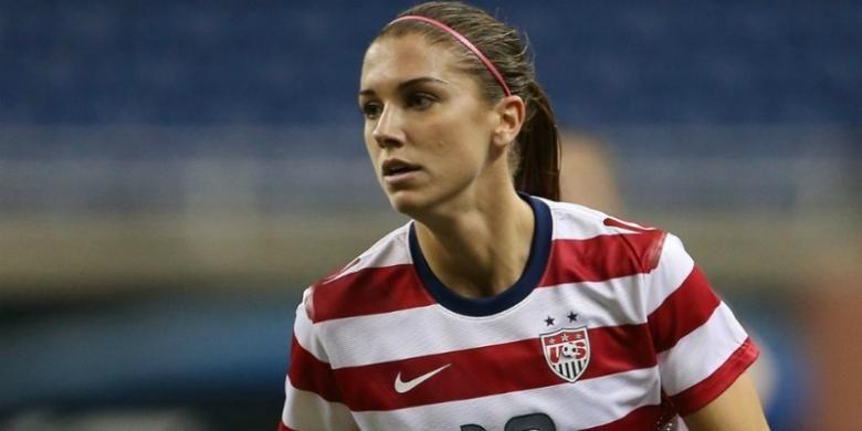 Penyerang andalan tim nasional wanita Amerika Serikat, Alex Morgan