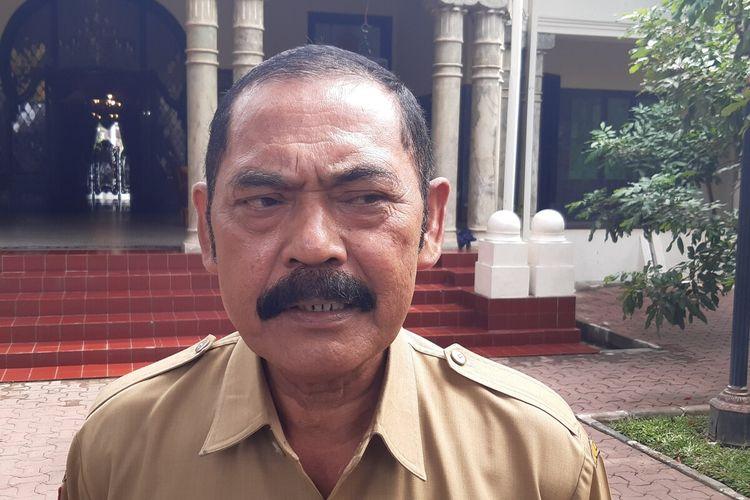 Wali Kota Solo, FX Hadi Rudyatmo di Solo, Jawa Tengah, Senin (12/10/2020).