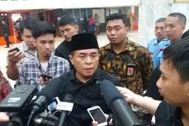 Ketua DPR RI Ade Komarudin di Kompleks Parlemen, Senayan, Jakarta, Selasa (2/8/2016)