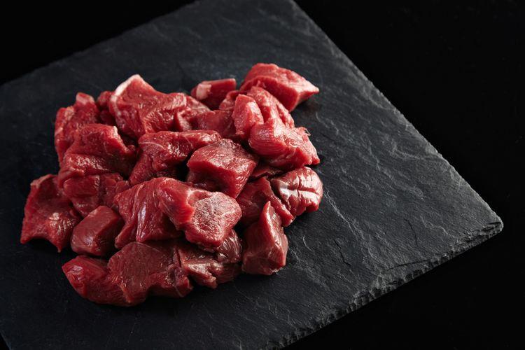 Ilustrasi daging merah