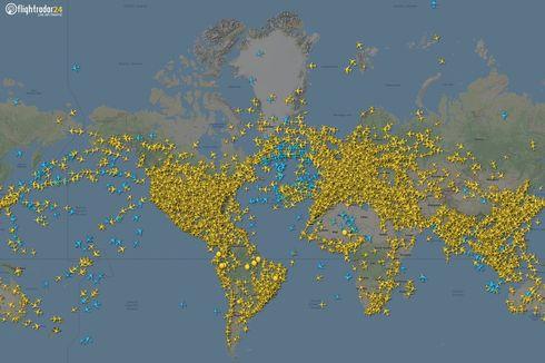 Layanan Pelacak Penerbangan Flightradar24 Tumbang Diserang Hacker