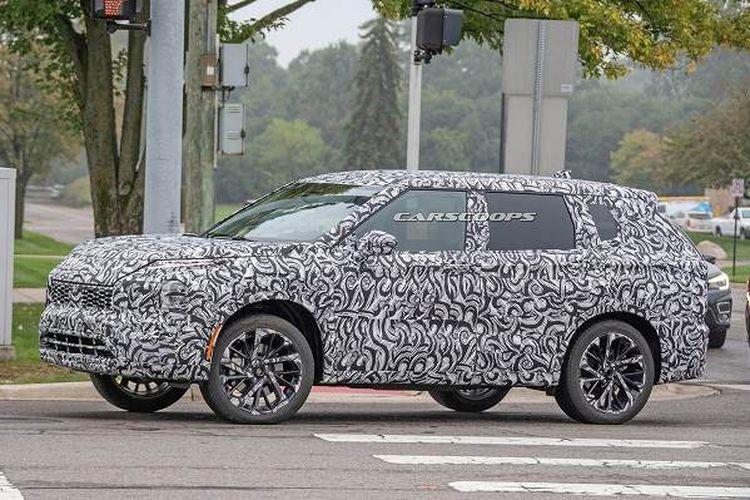 Spyshot Mitsubishi Outlander Sport generasi baru