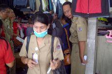 Penjual Baju Bekas di Denpasar Mulai Ditertibkan