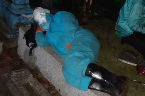 Kisah Perwira Polri Makamkan 57 Jenazah Pasien Covid-19, Sampai Tidur di Kuburan