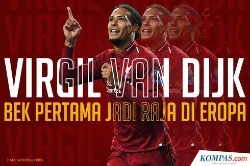 INFOGRAFIK: Virgil van Dijk, Pemain Terbaik Eropa 2019