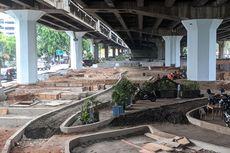 Taman di Kolong Tol Wiyoto Wiyono Bakal Manjakan Calon Penumpang Transjakarta