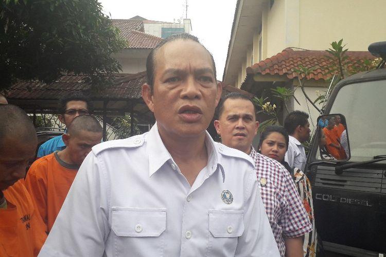 Deputi Bidang Pemberantasan BNN Irjen Arman Depari di Kantor BNN, Kamis (16/5/2019).
