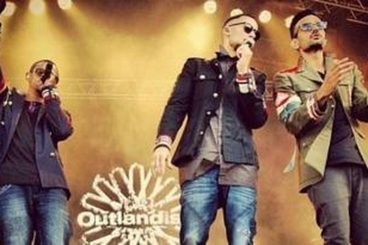 Kelompok musik Outlandish asal Denmark menjadi salah satu unggulan dalam ajang MOMO Awards 2013.