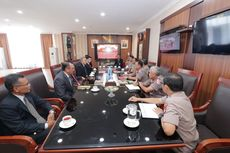 Cegah Sabu Masuk dari Malaysia ke Batam, Ketua Polisi Johor Datangi Polda Kepri