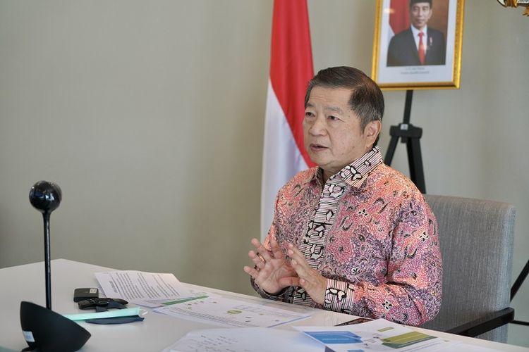 Menteri PPN/Kepala Bappenas Suharso Monoarfa sampaikan proyeksi Indonesia tetap menjadi upper-middle income countries pada 2021.